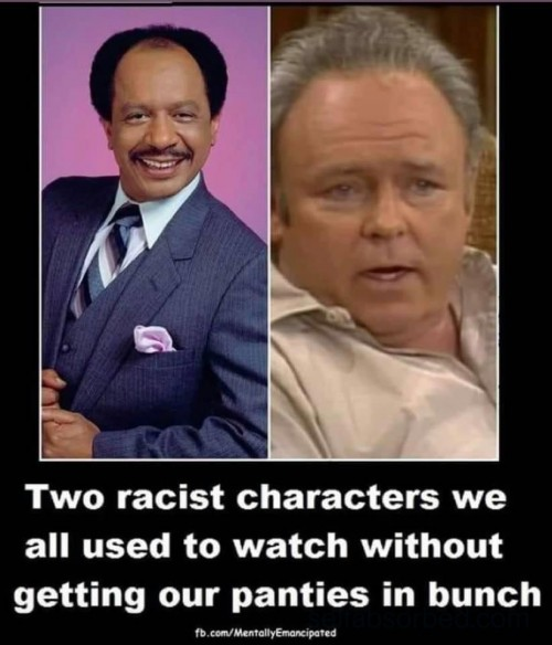 Archie Bunker and The Jeffersons