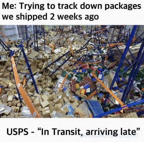 USPS late delivery