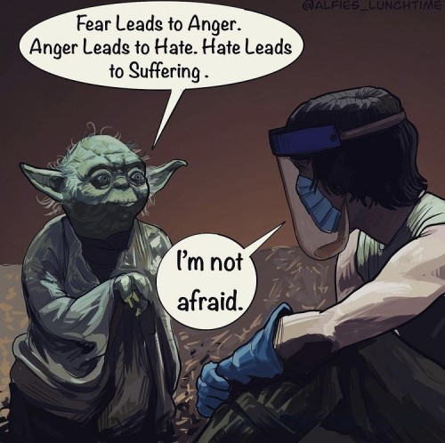 Star Wars Fear and Covid
