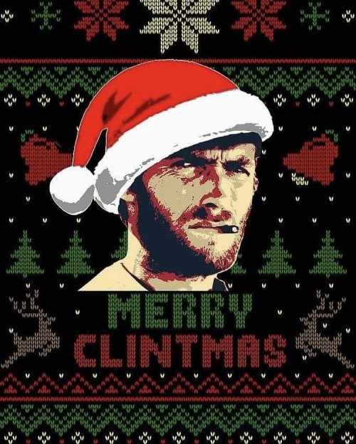 Merry Christmas from Clint Eastwood
